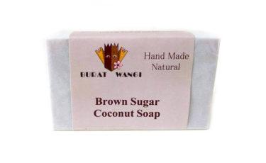 ブラットワンギ バリ島から 無添加 石鹸 ココナッツ クリーム ソープ ブラウンシュガー