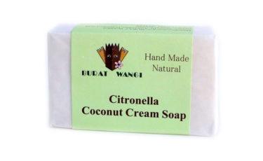 ブラットワンギ バリ島から 無添加 石鹸 ココナッツ クリーム ソープ シトロネラ